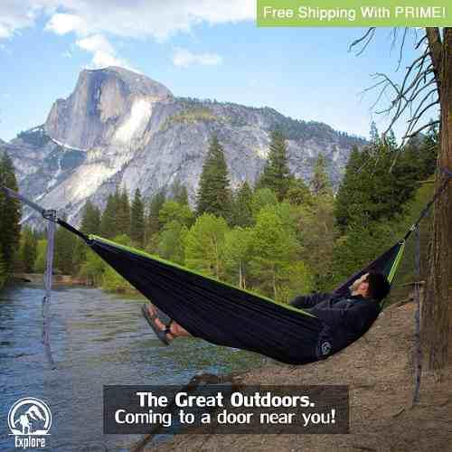 Hamaca Explore Para Camping, Travel, Outdoors