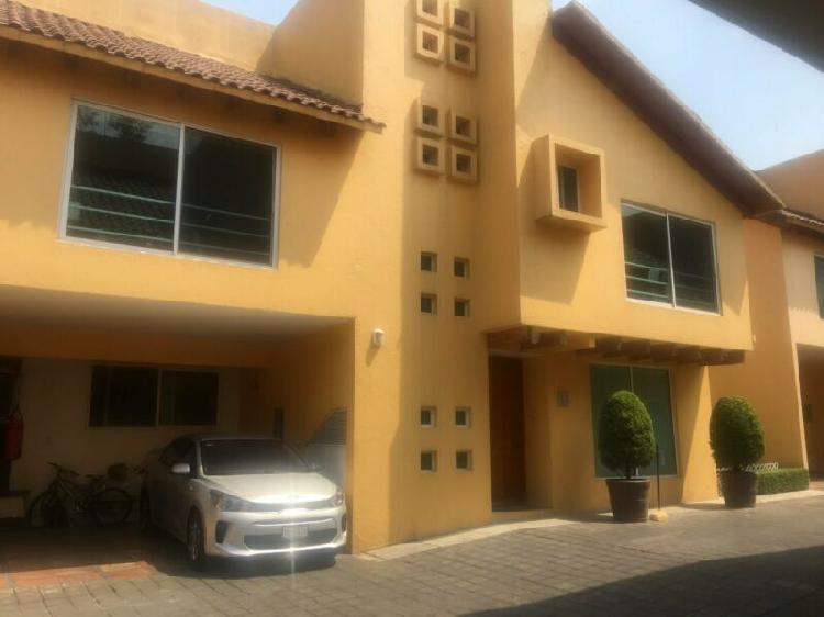 Hermosa casa en CH, AV TOLUCA, estupendos acabados y