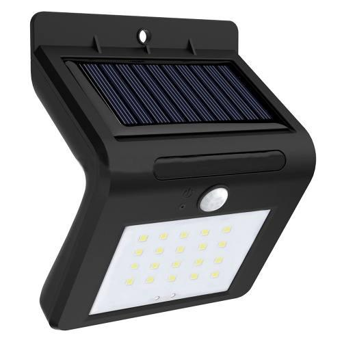 Lampara 20 Led Energía Solar Exterior Sensor Movimiento