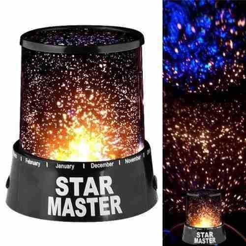 Lampara Led Colores Proyector De Estrellas Star Master H5007