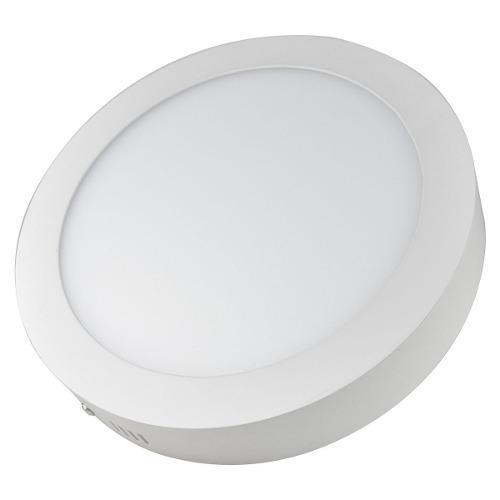 Lampara Sobreponer Plafon Led 12w Luz Blanca Fria 10 Piezas