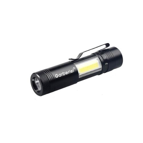 Lampara Tactica 6,000 Lumens Gerberiel Recargable Led Zoom