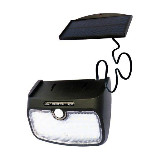 Lámpara Solar Led Con Sensor De Movimiento P/exterior