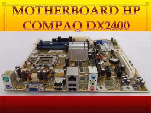 Motherboard Hp Compaq Dx Placa Base Ipibl-lb C2 Quaq