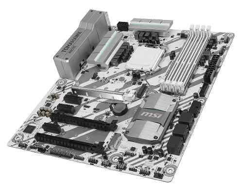 Motherboard Msi H270 Tomahawk Artic Intel  Atx Crossfire
