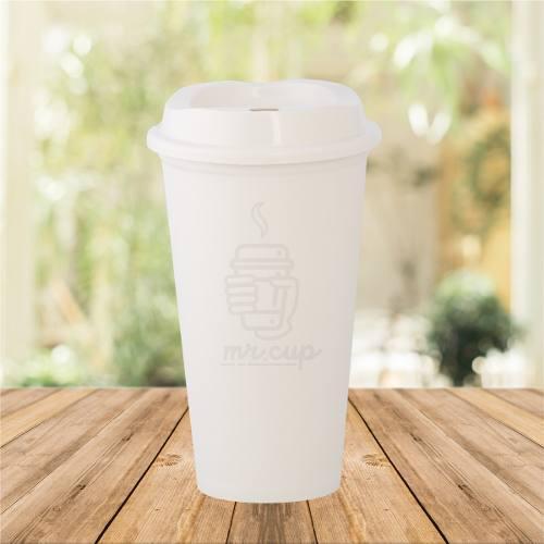 Paquete 50 Vasos Para Cafe Reusables Tipo Starbucks