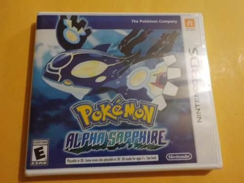 Pokemon Alpha Sapphire Para Nintendo 3ds