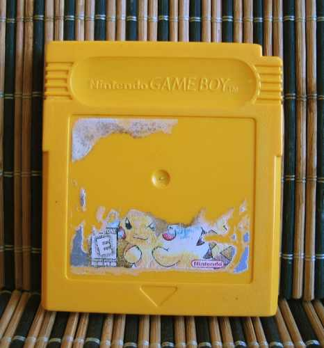 Pokemon Yellow Version - Nintendo Game Boy Rpg - Game Freak