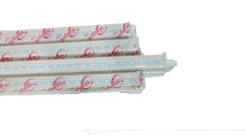 Regleta Tubo Led Con Base Integrada Blanca 18w Paquete 20 Pz