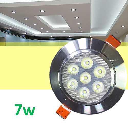 Spot Led 7w Foco Dirigible Plafon Luces Casa Tipo Panel