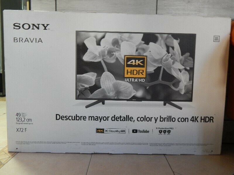 TV Sony 49 Pulgadas 4K Ultra HD Smart TV LED
