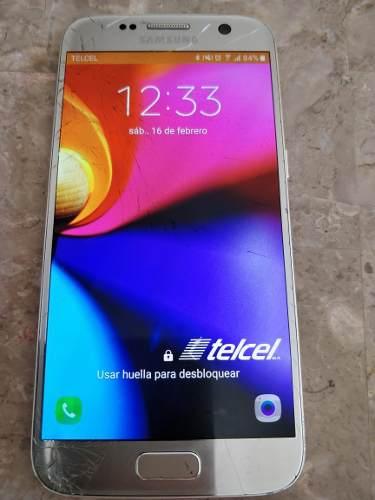Telefono Celular Samsung Galaxy S7 Con Detalle