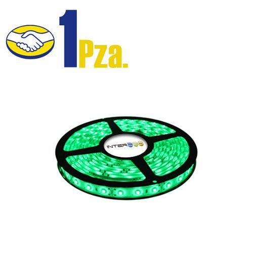 Tira Led Sin Eliminador 5mts 5050 Verde Ip65 1 Pieza