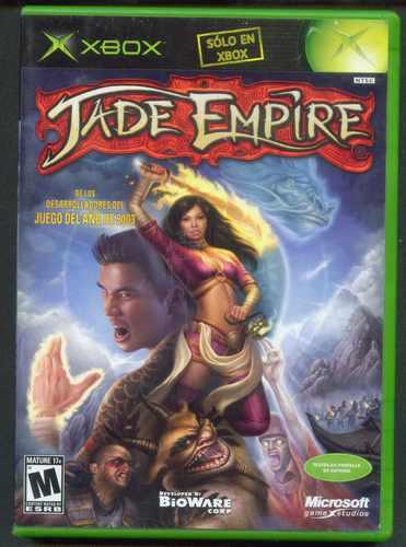 Xbox Jade Empire