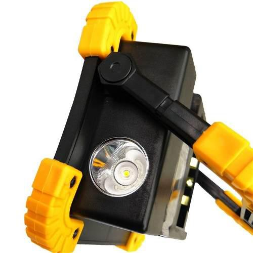 Yl Lampara Reflector Linterna Led Portatil Recargable 811