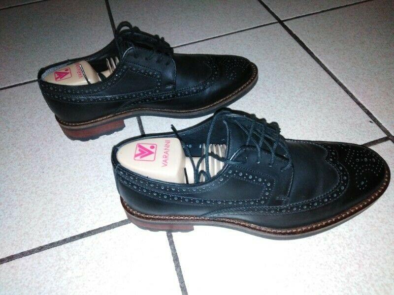 excelentes zapatos negros 6.5