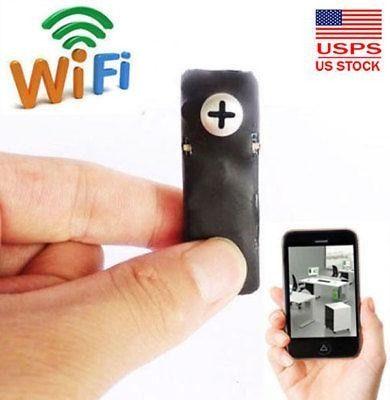 Inalámbricos Ip Red Oculta Espía Cámara Seguridad Mini