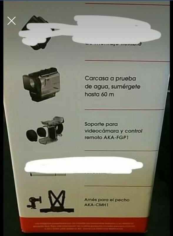 Kit de accesorios para cámara sony