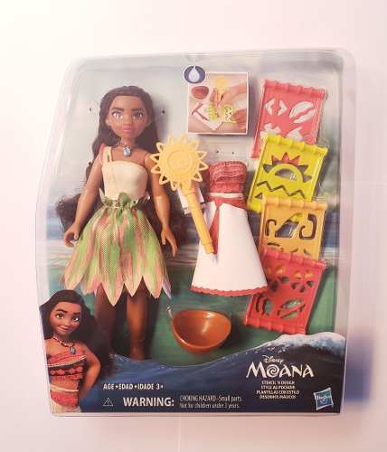 Oferta Muñeca Princesa Disney Moana Plantillas Con Estilo