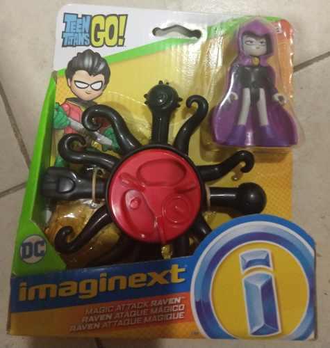 Raven Ataque Magico Teen Titans Go Imaginext