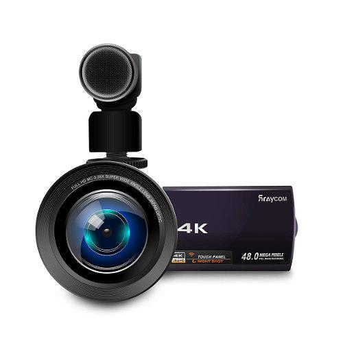 4k Vídeo Cámara De La Videocámara, Rraycom 48mp Ultra - H