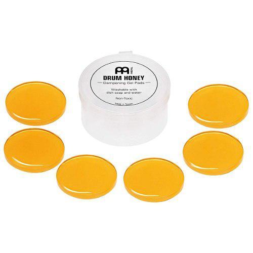 Ahogadores Para Bateria Meinl 6 Piezas Gel Damper Drum Honey
