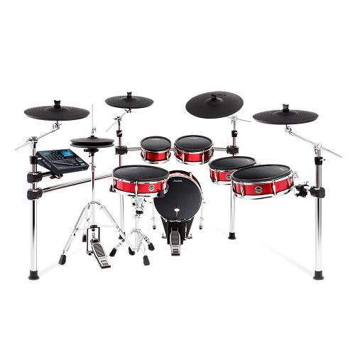 Alesis Strike Pro E-drum Bateria Electronica Sparkle Red