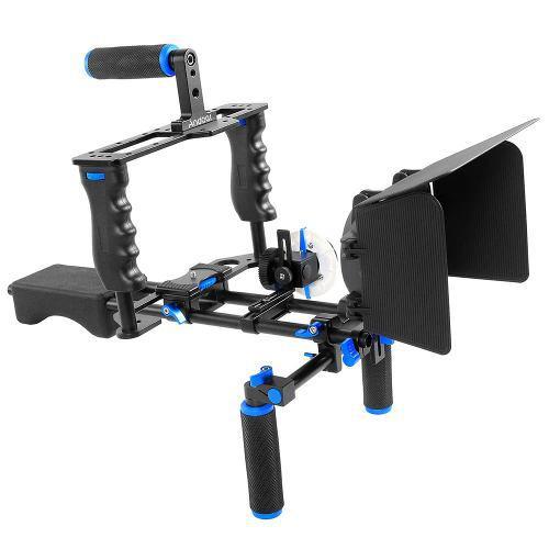 Andoer D100 Aluminio Aleación Cámara Videocámara Vídeo H