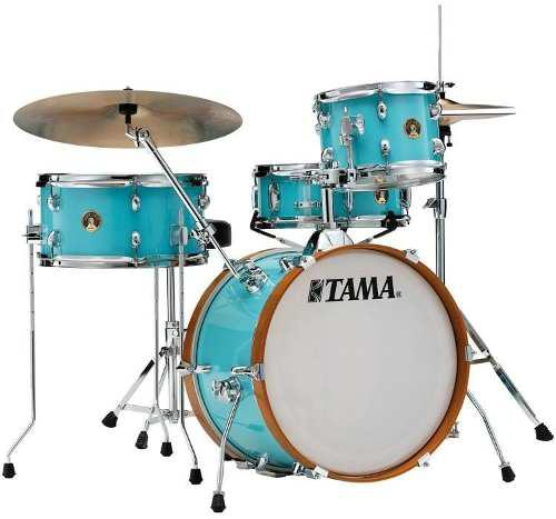 Batería Tama Club Jam Shell Pack 4 Pz Aqua Blue Ljk48h4-aqb