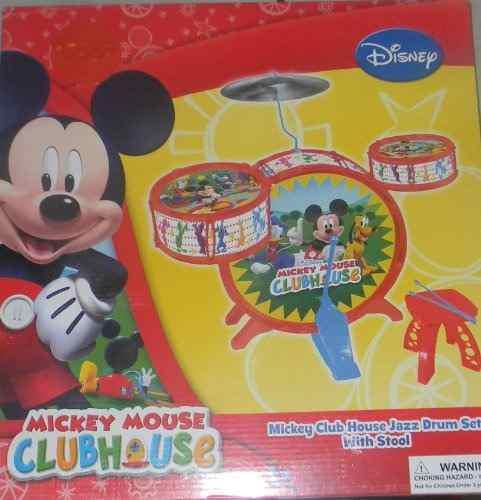 Batería Y Percusión,disney Junior Mickey Mouse Club Jazz..