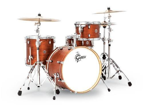 Bateria 4 Pzs Walnut Glaze Gretsch Catalina Club Ct1j404swg