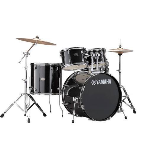 Bateria Acústica Yamaha Rydeen Black Glitter Con Platillos