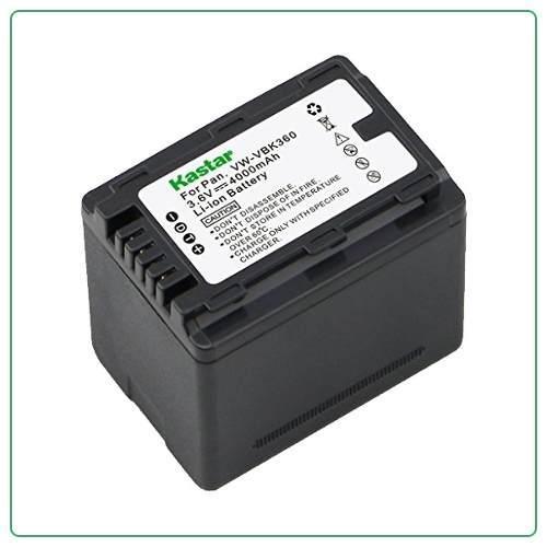 Bateria Pila Vbk360 P/ Videocamara Panasonic Sdr-s70 Sdr-t76