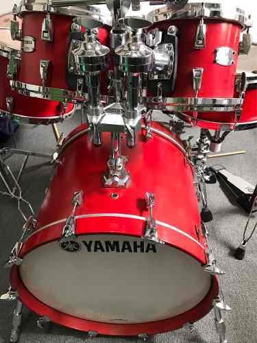 Bateria Yamaha Aboslute Hybrid Maple Roja ((solo 6tambores))