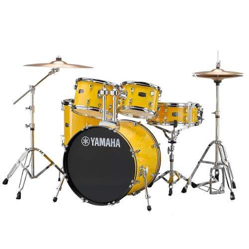 Bateria Yamaha Acustica Rydeen Mellow Yellow Rdp2f5yls