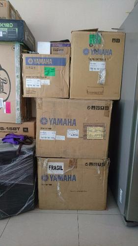 Bateria Yamaha Oak Custom Jny2t4amsb Shell Pack