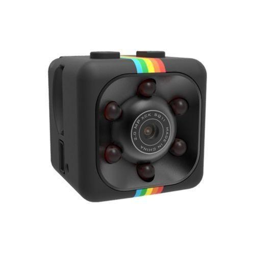 Black - Sq11 Mini Cámara Videocámara Hd Noche Visión