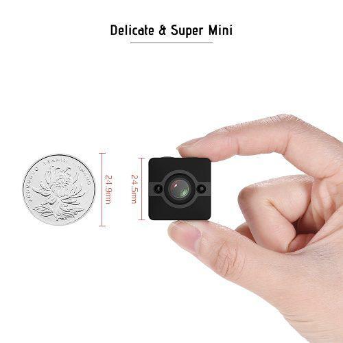 Cmara De Accin De Videocmara Sq12 1080p Hd Mini