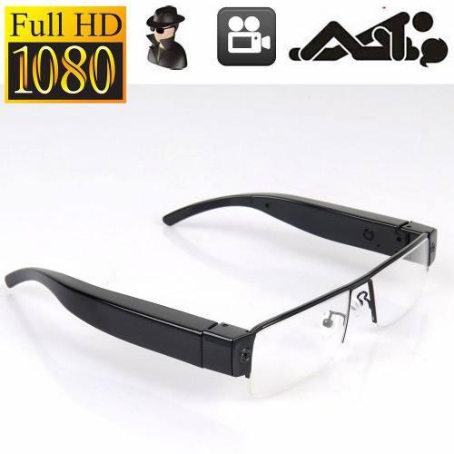 Fhd 1080p Gafas Gafas Espía Oculta Cámara Videocámara