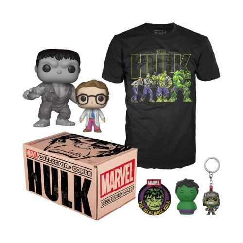 Funko Box Collector Corps 'hulk' (en D3 Gamers)