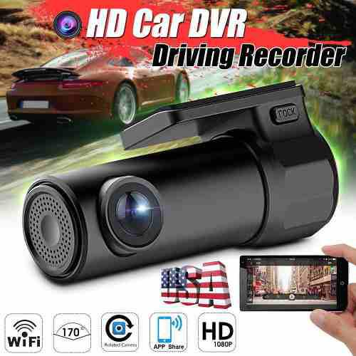 Mini Hd 1080p Coche Dvr Dash Videocámara Wi-fi Cámara