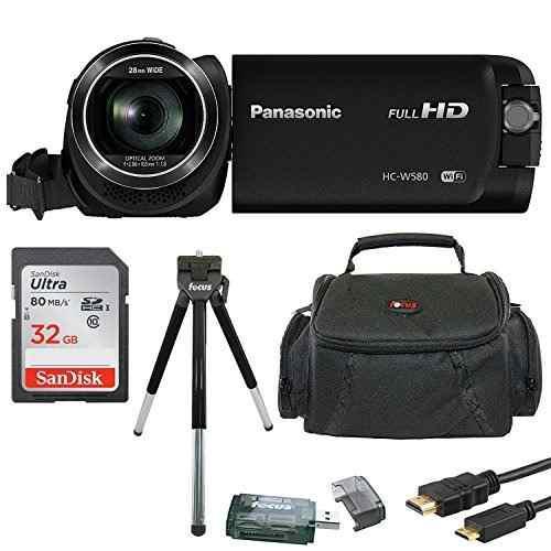 Panasonic Hc -w580k Videocamara Full Hd 1080p Con Camara Dob