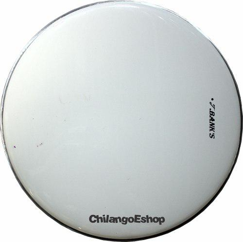 Parche Blanco Para Bateria 16 Pulgadas