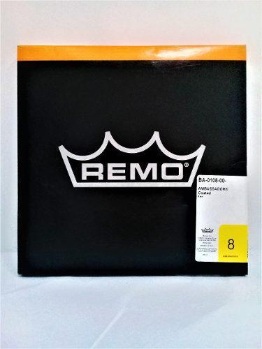 Parche Para Batería De 8 Ambassador Coated Marca Remo