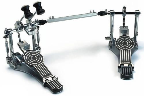 Pedal Doble Zurdo Sonor Bombo Bateria Dp 472l Confirmar Ex /