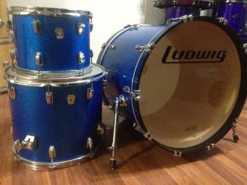 Preciosa Batería Ludwig Classic Maple Como Nueva!!!