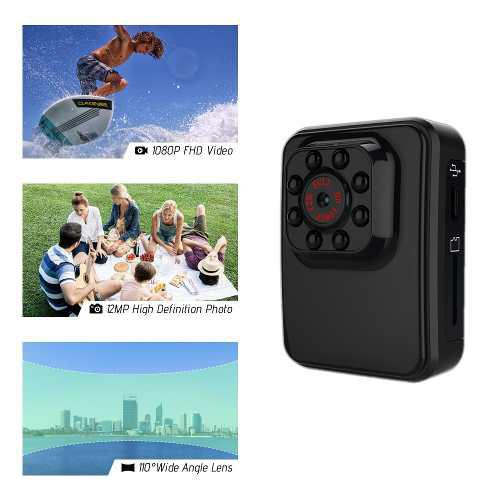 R3 Wifi 1080p Hd Mini Sports Dv Acción Cámara Videocámara