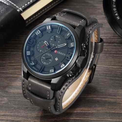Reloj Militar Moderno Hombre Analogo Current Envio Gratis