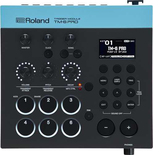 Roland Tm-6 Pro Módulo De Sonidos Electrónicos Para