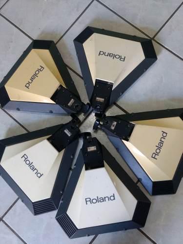 Set De 5 Pads Roland Bateria Percusion Electronica Pd-21